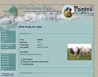 Animal Breeder Website - Customized just for you - Sell More Horses, Dogs, Cats