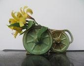 Frankoma Wagon Wheels Sugar and Creamer