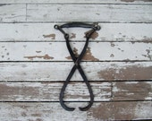 Rustic Metal Ice Tongs for your Industrial Decor