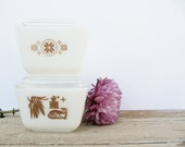 Pyrex Small Town and Country and Early Americana Refrigerator Dishes