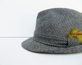 Vintage Men's Tweed Fedora