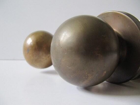 Set of Brass Door Knobs