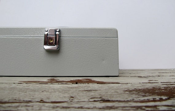 Vintage Industrial Cash Box