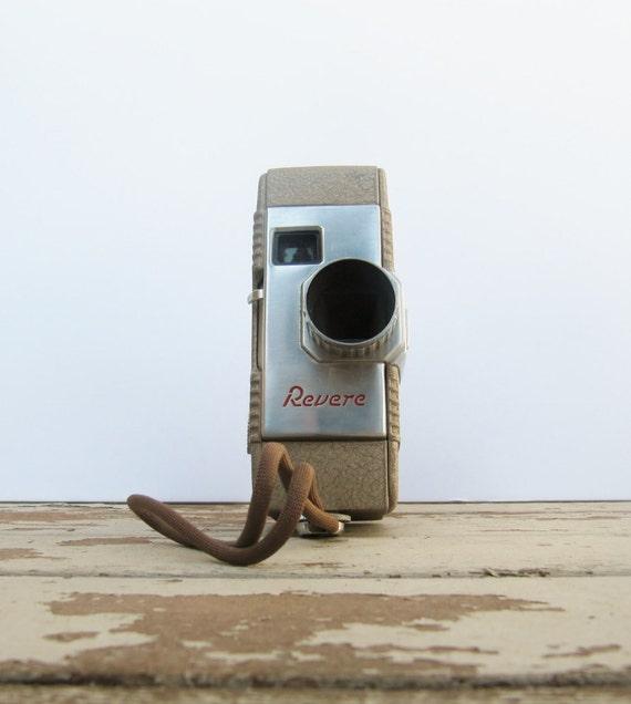 Revere Model 50 8mm Spool Camera with Box