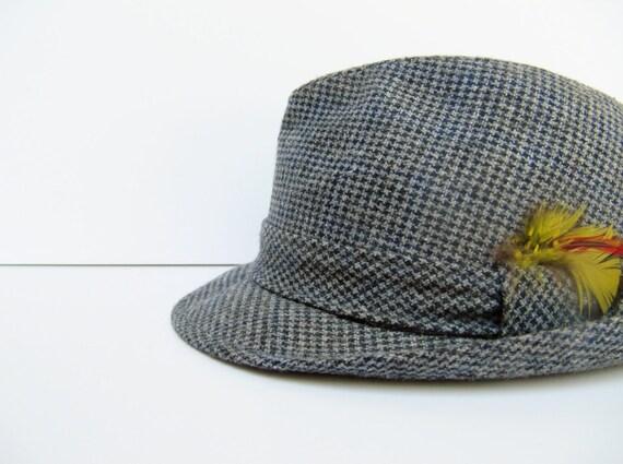 Vintage Men's Tweed Fedora