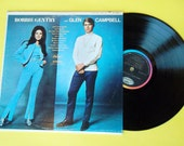 Vintage Bobbie Gentry And Glen Campbell Record St 2928 1968