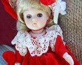 Vintage Ginny Porcelain Doll Vogue Dolls Inc 1984