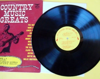 Vintage 25 Country Music Greats Record CMG1