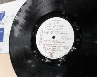 The Who Live At Leeds Decca Record Album 1970