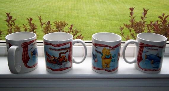 Vintage Winnie the Pooh Mugs
