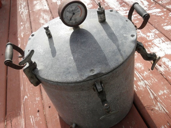 Antique National Pressure Cooker 1920s