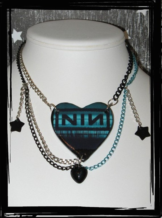 Nine Inch Nails Necklace NIN