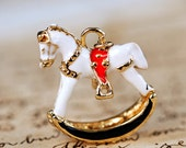 a stunning Rocking Horse necklace