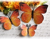 Sunset Butterfly Embellishment Die Cuts for Scrapbooking, Cardmaking, Altered Art, Mini Album