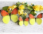 Summer Butterfly Die Cut Embellishments for Scrapbooking,Cardmaking, Tag Art,Mini Album