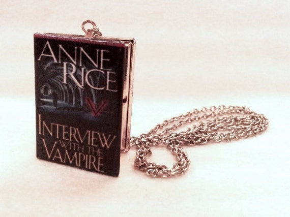 Interview with the Vampire Locket - Book Pendant with chain