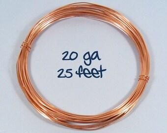 20ga 25ft DS Copper Wire