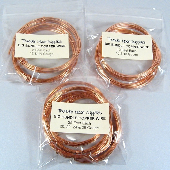 Copper Wire Bundle : Big bundle copper wire from thundermoonsupplies on etsy