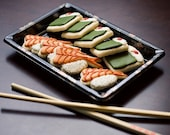 RESERVED listing for Stellagal  Sushi Sugar Cookies - 2 dozen