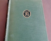 Vintage Mark Twain Book The Gilded Age Hardcover Green Cloth Book 1918 Book