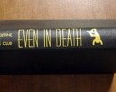 Vintage Book Even In Death by Stewart Devine