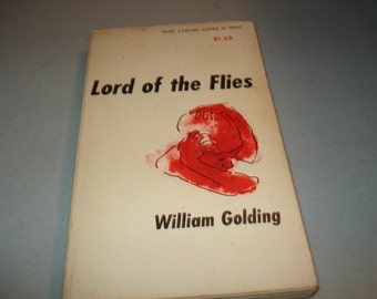 Lord  of  the Flies Book By William Golding - Classic Novel