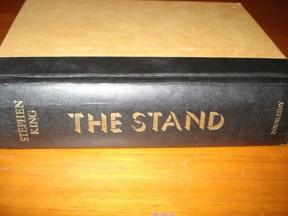 The Stand from the master of suspence, Stephen King one of his most famous and popular novels