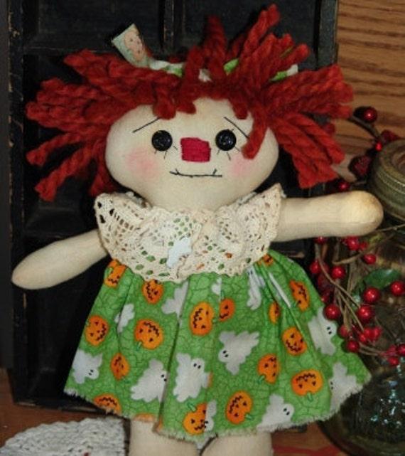 Annie/ pumpkins and ghosts