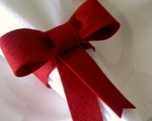 Napkin Rings Set of 4 - Bow Holiday