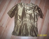 Vintage Top for Gold lovers..