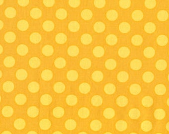 1 yard - Ta dot in Mustard, Michael Miller Fabrics