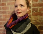 Reserved for Madieleedesigns- Multi-Color Recycled Knit Cowl
