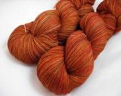 Cider - Handpainted Superwash BFL/Silk Lace yarn 875 yds
