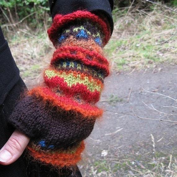 Handwarmers Exquisite MOTHER NATURE wool alpaca mohair