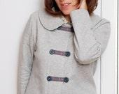 Vivian jacket in organic cotton