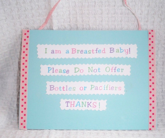 Hospital Breastfed Baby Cot Card Free Shipping To Canada And