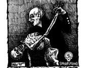 Vampire Mischief Original Vampire Drawing