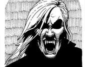 OUT OF O NEGATIVE Original Vampire Artwork