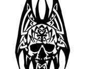 Tribal Nosferatu Original Vampire Drawing