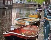 Amsterdam Boats 8 x 12
