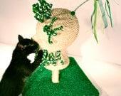 Mannequin Scratching Post Kitty Cat Scratcher Pet Furniture Cat Toy