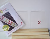 Funky Pinwheel Template Set and Instructions