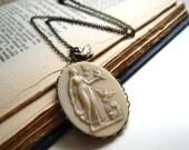Handmade Vintage Goddess Necklace. Aphrodite