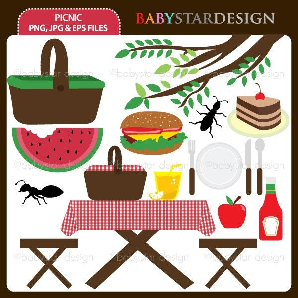 spring picnic clipart - photo #43