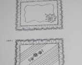 2 Shadow Work Embroidery Pillow Patterns by Julia Golson