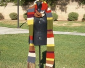 Doctor Who Scarf - Season 14 - Ready to Ship
