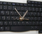 Laptop Keyboard Wall Clock