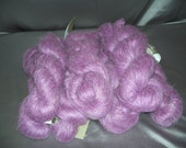 Brushed Mohair--Fountain Hill /  Finch color (Purple lavender)