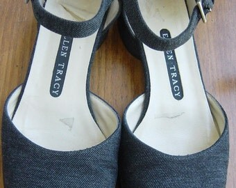 vintage ellen tracy mary jane shoes 5.5