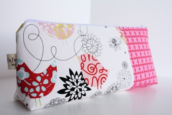FREE Personalization for a Limited Time--Cosmetic Makeup Bag - Peeps - Made to Order